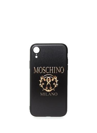 Moschino iPhone XR Aksesuar Siyah
